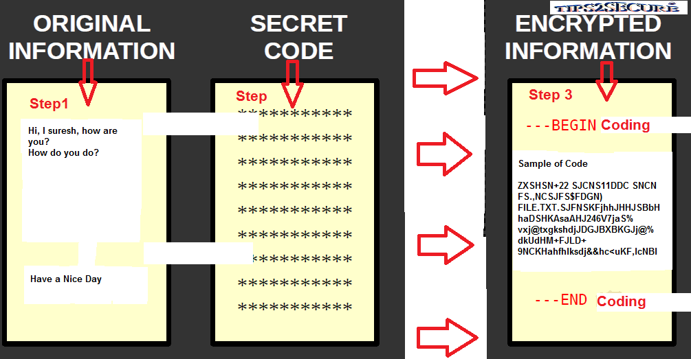 Cryptography Meaning and Process