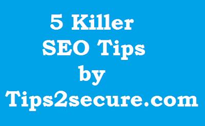 Seo Tips to rank in Google