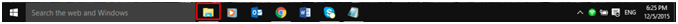 windows 10 task bar menu