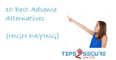 10 best Google adsense alternatives high paying