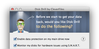 Disc Drill - Recover deleted files on mac OS X