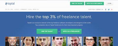 Earn money with Toptal