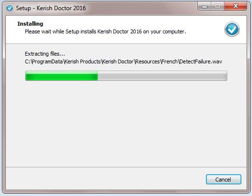 Installing Kerish doctor