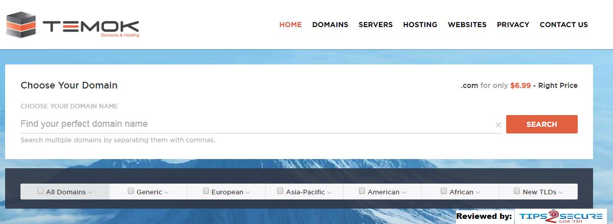 Temok Review: Premium WebHosting provider