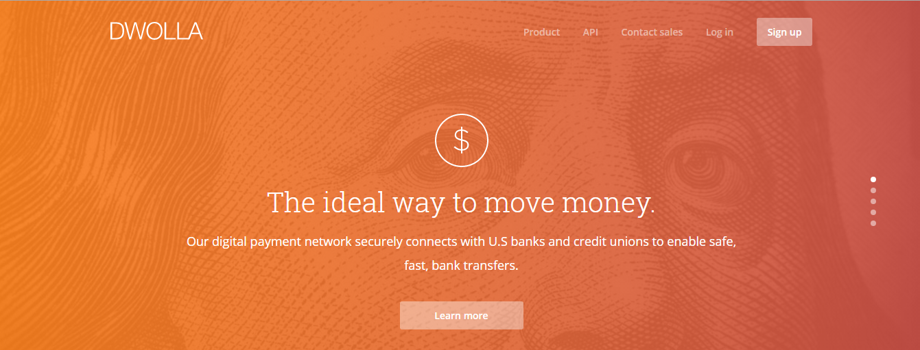 dwolla -  ideal way to send money