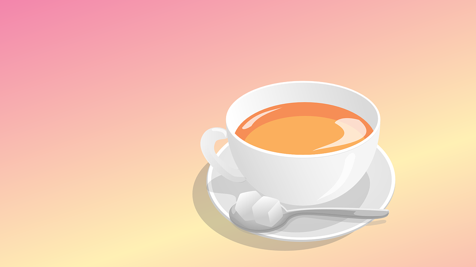 cup of tea is must while reading reviews