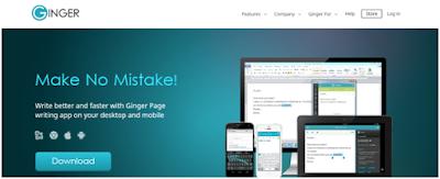 Ginger software - Grammar checker tool