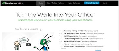Best business phone service provider: Grasshopper