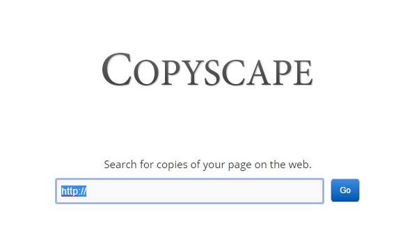 Copyscape Alternative