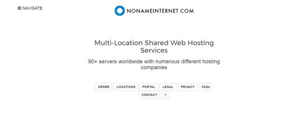 No Name Internet PBN Hosting