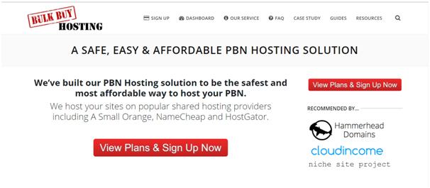 Bulk Buy PBN Hosting