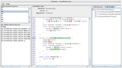 Enigma Java Decompiler