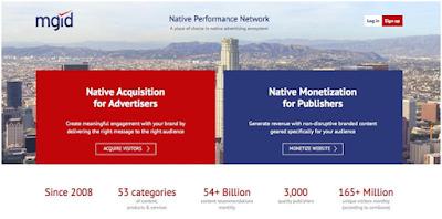 Mgid native ad network