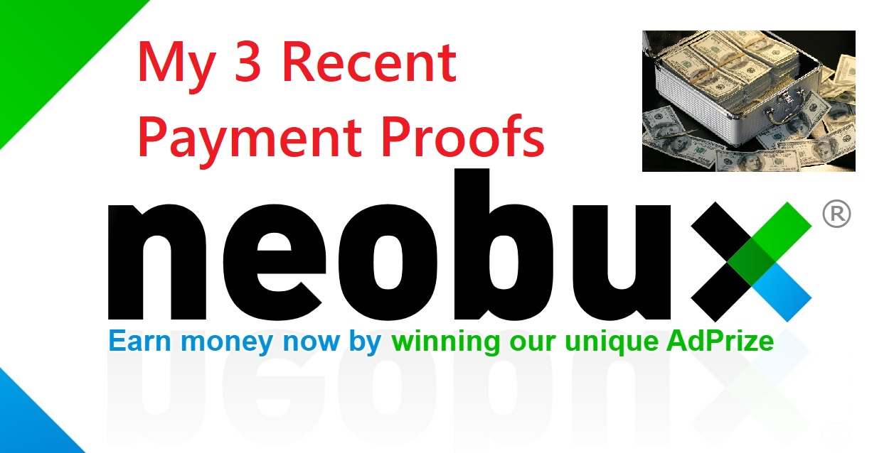recent neobux payment proofs