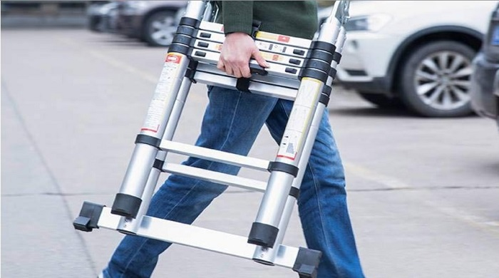 A Frame Shape telescoping Ladder reviews