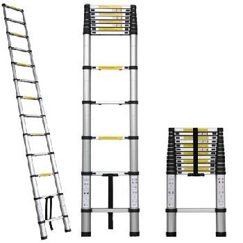 Aluminum Extension Telescopic Telescoping Loft Ladder