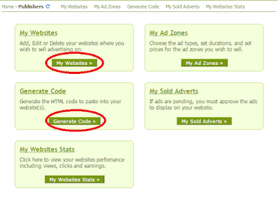 adding websites in Adhitz ad network