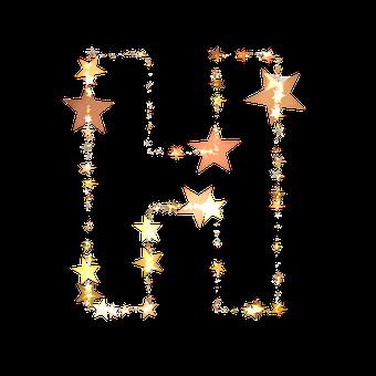 H alphabet image for DP