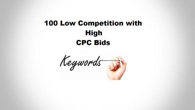 Low Competition Keywords List