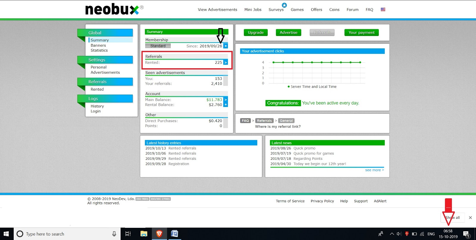 neobux review personal experience