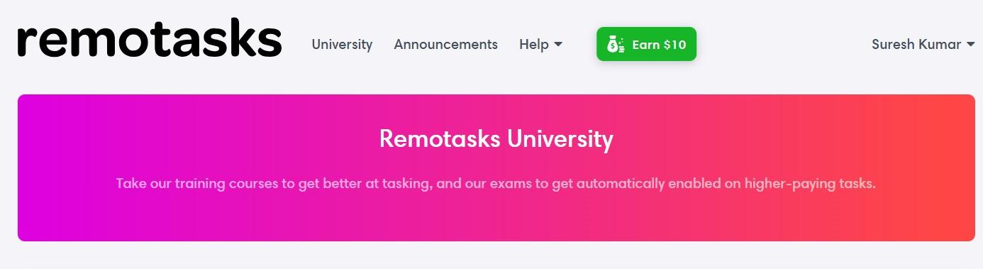 Remotasks exam