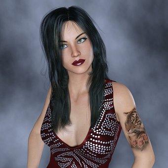 hot girl stylish pic