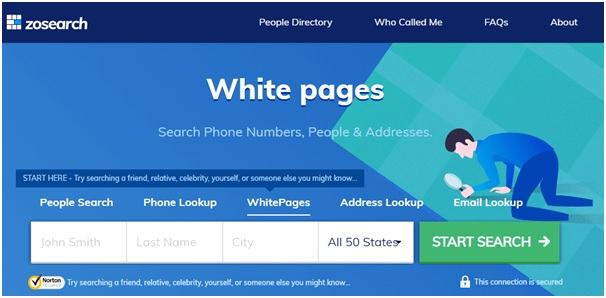 Zosearch Whitepages
