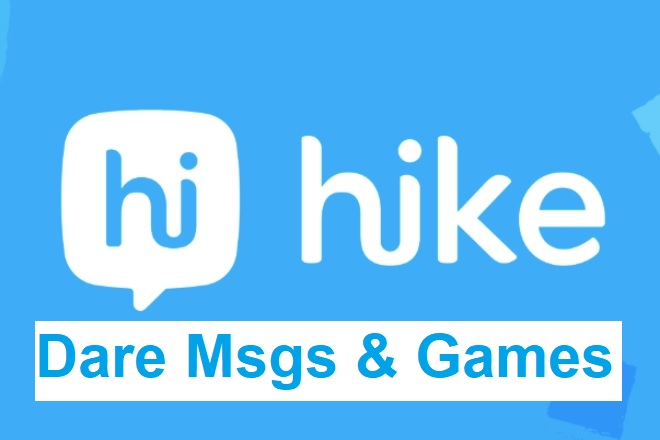 New Hike Dare Messages