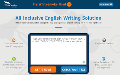 Whitesmoke - Website like Grammarly