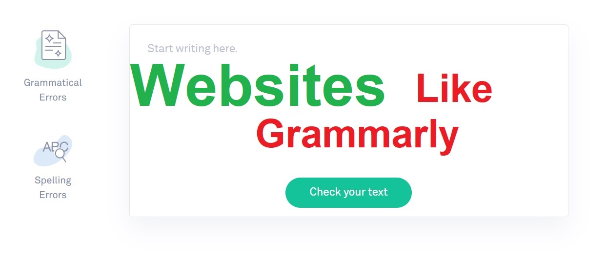 Websites like Grammarly