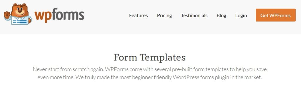 wpforms create order form